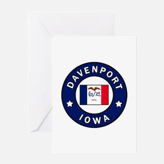 Davenport Iowa Greeting Cards