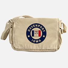 Davenport Iowa Messenger Bag