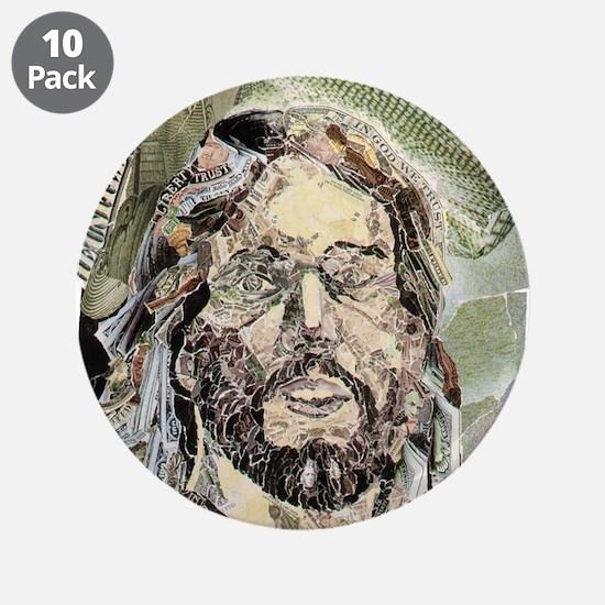 "In God - 3.5"" Button (10 pack)(c)Crocker-Angel '93"