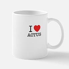 I Love ACTUS Mugs