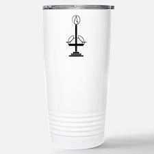 Anti-Theist Cross Stainless Steel Travel Mug
