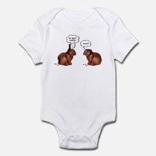 Chocolate Easter Bunnies Infant Bodysuit