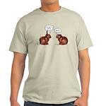 Chocolate Easter Bunnies Light T-Shirt