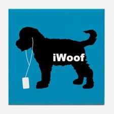 iWoof Schnoodle Tile Coaster