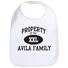 Property of Avila Family Bib
