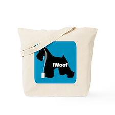 iWoof Schnauzer Tote Bag