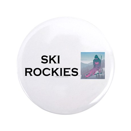 "TOP Ski Rockies 3.5"" Button"