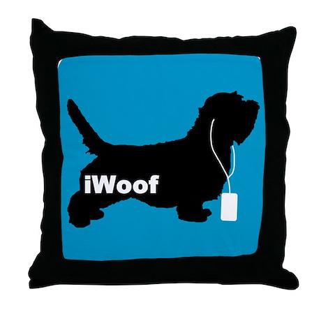 iWoof PBGV Throw Pillow