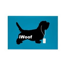 iWoof PBGV Rectangle Magnet
