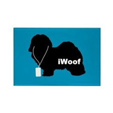 iWoof Havanese Rectangle Magnet