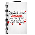 Grandma's Rules Journal