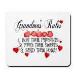 Grandma's Rules Mousepad