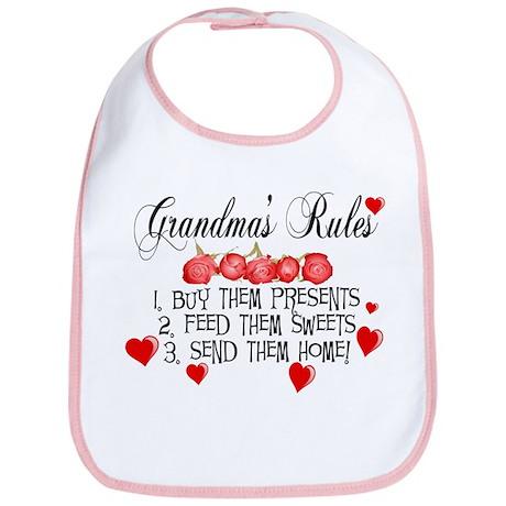 Grandma's Rules Bib
