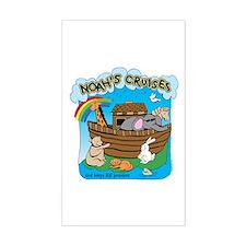 Noah's Cruises Rectangle Decal