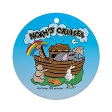 Noah's Cruises Ornament (Round)