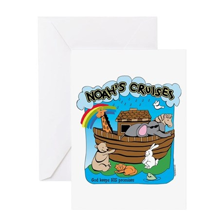 Noah's Cruises Greeting Card