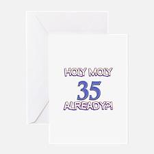 35 Already Birthday Designs Greeting Card