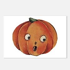 Halloween 50 Postcards (Package of 8)