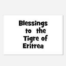 Blessings  to  the  Tigre of  Postcards (Package o