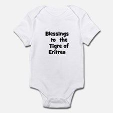 Blessings  to  the  Tigre of  Infant Bodysuit