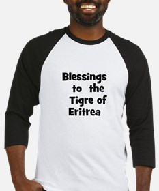 Blessings  to  the  Tigre of  Baseball Jersey