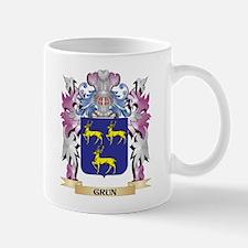 Grun Coat of Arms (Family Crest) Mugs