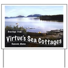 Virtue's Sea Cottages Yard Sign