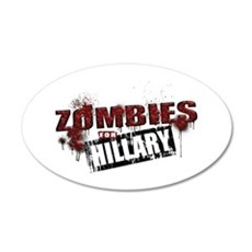 Zombies for Hillary Wall Decal