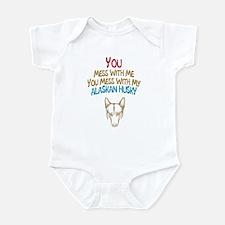 Alaskan Husky Infant Bodysuit