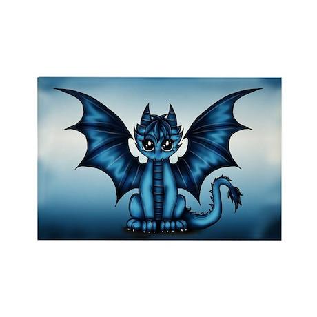 Dragon blue Magnets