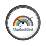 Undecided Rainbow Wall Clock