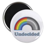 "Undecided Rainbow 2.25"" Magnet (10 pack)"