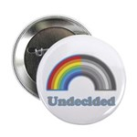 "Undecided Rainbow 2.25"" Button (10 pack)"