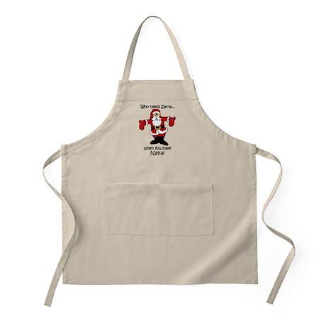Who needs Santa BBQ Apron