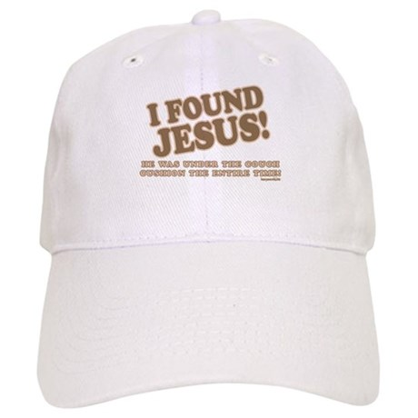I Found Jesus Cap