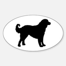 Akbash Dog Breed Oval Decal