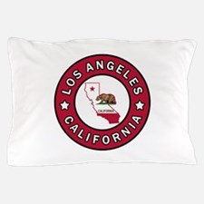 Los Angeles California Pillow Case