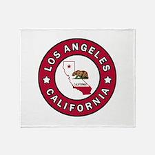 Los Angeles California Throw Blanket