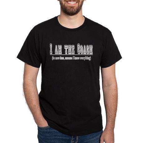 I'm the Coach- White Dark T-Shirt