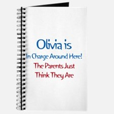Olivia Is In Charge Journal