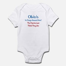 Olivia Is In Charge Infant Bodysuit