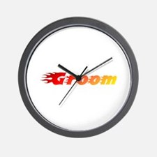 Groom - Blazed Wall Clock