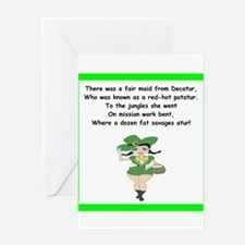 limerick Greeting Cards
