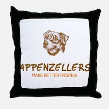 Appenzeller Sennenhunde Throw Pillow