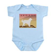 Hazy Sunrise Akbash Infant Bodysuit