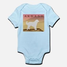Hazy Sunrise Akbash Infant Bodysuit