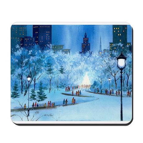 Central Park Winter Mousepad