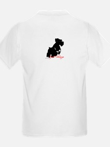 natural ear fly-jump Kids T-Shirt