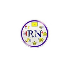 Rally Novice Mini Button