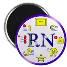 """Rally Novice 2.25"""" Magnet (10 pack)"""